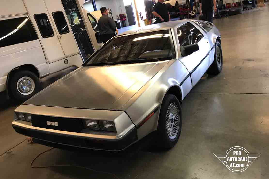 delorean bodyshop